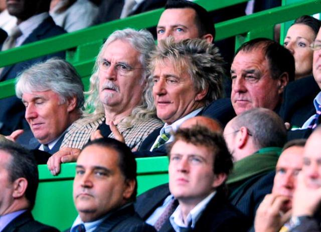 Stewart is a regular at Celtic Park to watch his favourite football team Celtic FC ©Getty Images