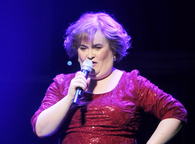 Susan Boyle is another Scottish singng star set to perform at the Glasgow 2014 Opening Ceremony ©Getty Images