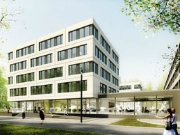 The DOSB headquarters in Frankfurt will begin a two-year construction and renovation period ©HPP