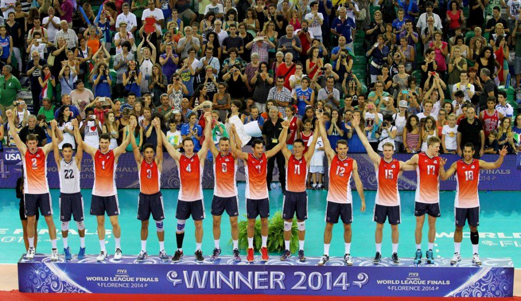 The US have won the 2014 FIVB World League title ©FIVB