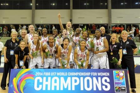 The US have won their third Under 17 Women's World Basketball Championship ©FIBA