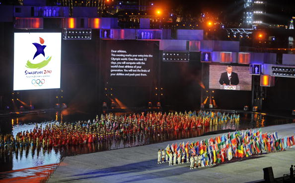 The United States came 13th in the medals table at the Singapore 2010 Youth Olympics ©AFP/Getty Images