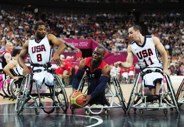 The United States suffered a surprise defeat to Italy at the World Wheelchair Basketball Championships today ©Getty Images