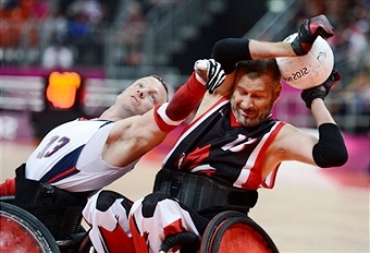 The draw for this year's Wheelchair Rugby World Championships has been announced ©Getty Images