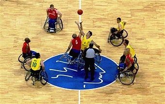 The final at this year's World Wheelchair Basketball Championships will see the US take on Australia who came back from the brink against Turkey today ©Getty Images