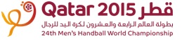 The pots have been announced for the 2015 Men's Handball World Championship draw event ©Qatar 2015