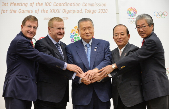 The protest comes shortly after a Coordination Commission meeting late last month in which the IOC were updated on the latest plans ©AFP/Getty Images