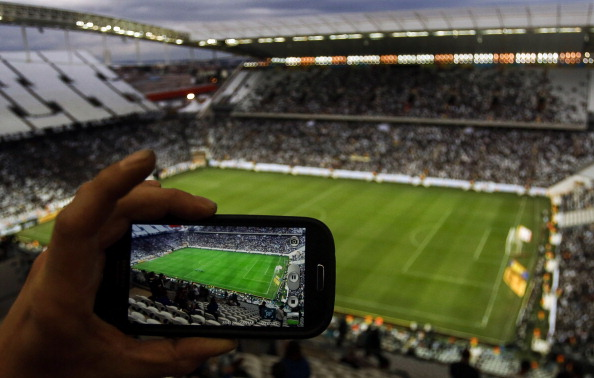 The tournament has been hailed as the first truly social media World Cup ©AFP/Getty Images
