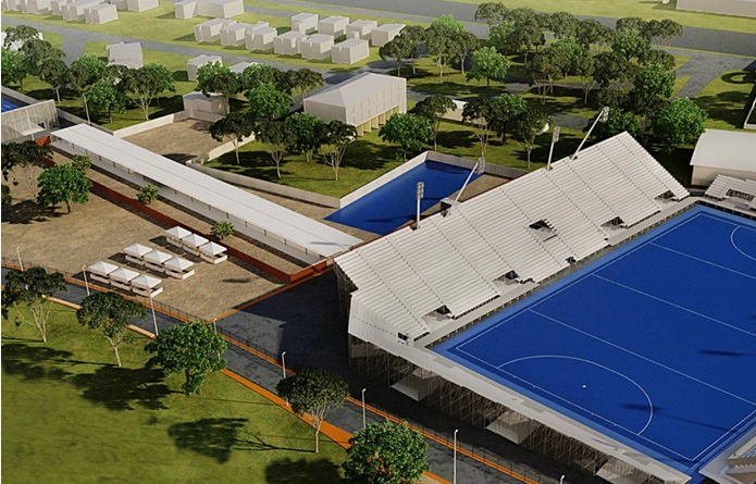 There is a lot of construction work required to prepare the proposed venues on the Deodoro Cluster to the high-levels shown in artist's impressions ©Rio 2016