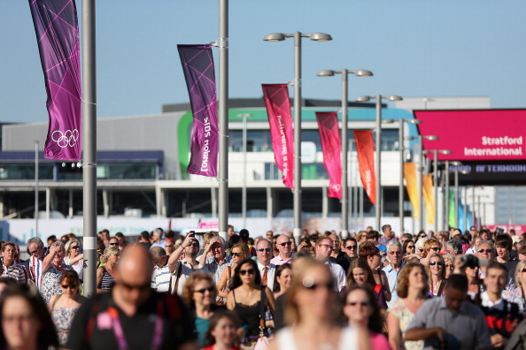 There were also problems with the ticketing process for the London 2012 Olympic Games ©Getty Images