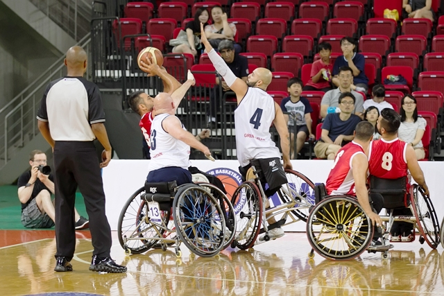 Turkey emerged victorious in Incheon after a thrilling quarter-final clash with Great Britain ©British Wheelchair Basketball