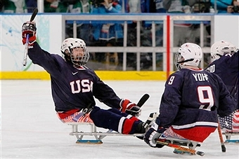 Two of the most decorated players in US ice sledge hockey history have retired from international competition ©Getty Images