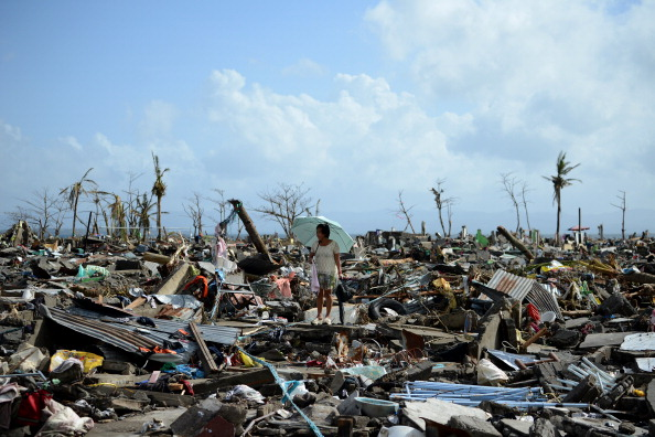 Typhoon Haiyan claimed more than 6,000 lives and caused widespread destruction in the Philippines ©AFP/Getty Images