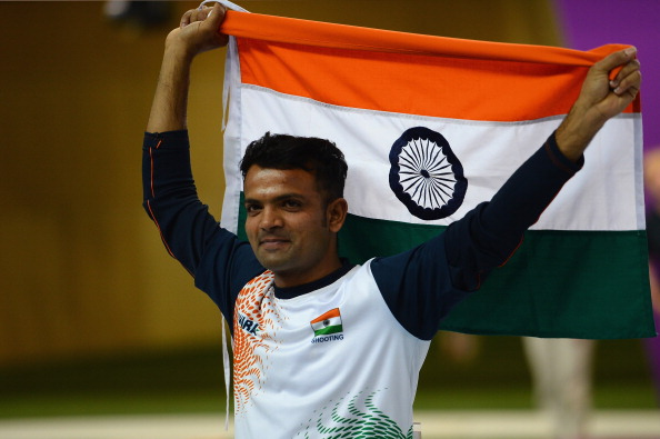 Vijay Kumar has been named the flag-bearer for India at the Glasgow 2014 Commonwealth Games ©Getty Images