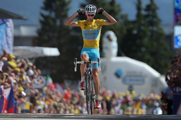 Vincenzo Nibali has strengthened his grip on the yellow jersey by winning stage 13 of the Tour de France ©Getty Images