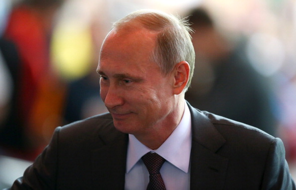 Vladimir Putin declared that supporters travelling to attend Russia 2018 will not require a visa ©Getty Images