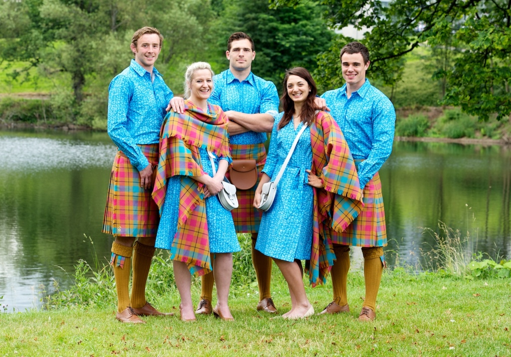 The Team Scotland parade uniform for Glasgow 2014 has been unveiled ©Commonwealth Games Scotland