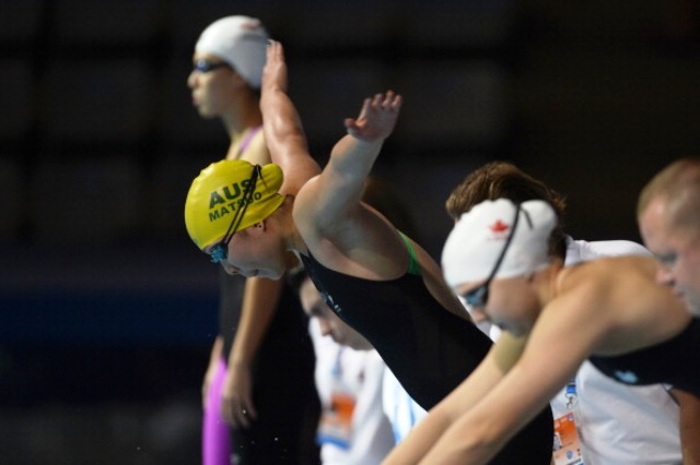 Ami Matsuo will be a real medal prospect for Australia in the pool at Nanjing 2014 ©AFP/Getty Images