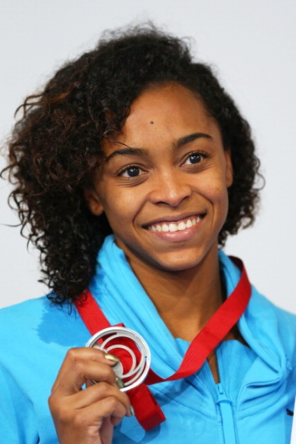 Arianna Vanderpool Wallace created history tonight by becoming the first swimmer from the Bahamas to medal at a Commonwealth Games ©Getty Images