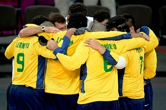 Brazil's men have been crowned goalball world champions for the first time in Espoo ©Getty Images