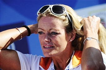 Four-time Olympic champion Inge de Bruijn will be a special guest at the Bosphorus Cross Continental swimming race ©AFP/Getty Images