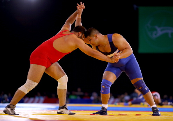 Four gold medals will be won in the wrestling today ©Getty Images