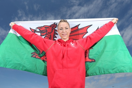 Francesca Jones will fly the flag for Wales at the Opening Ceremony ©Team Wales