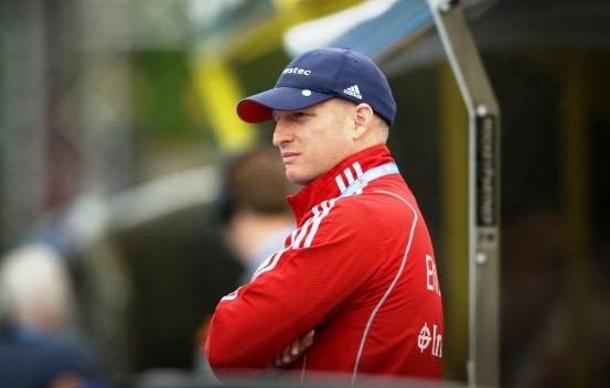 Jason Lee has left his role as head coach of the England women's hockey team ©Ady Kerry
