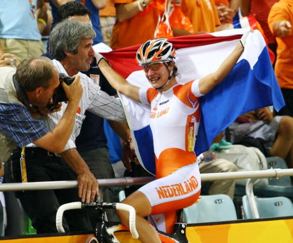 Van Commenee was Chef de Mission to The Netherlands team at Beijing 2008 that won seven gold medals including a win for cyclist Marianne Vos ©Getty Images