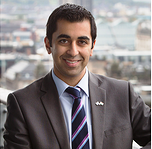 Humza Yousaf says it is not the Scottish Government's role to point fingers over LGBT rights ©Humza Yousaf
