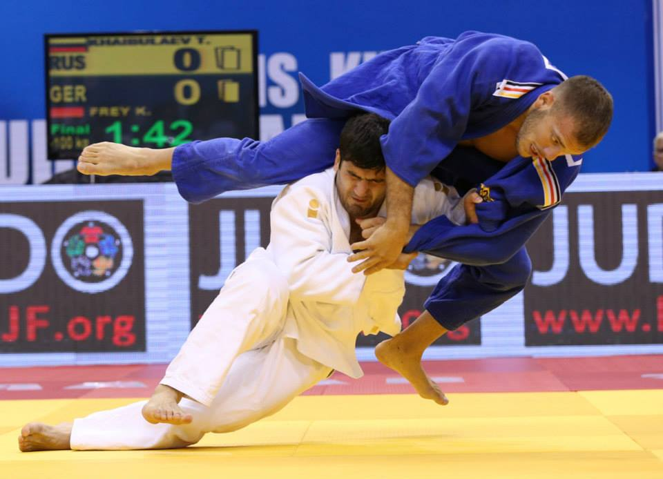 London 2012 Olympic champion Tagir Khaibulaev was one winner on the final day of the IJF Grand Prix in Mongolia ©IJF