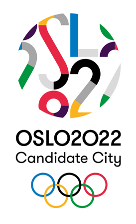 Oslo has updated its bid logo to reflect its status as a Candidate City ©Oslo 2022