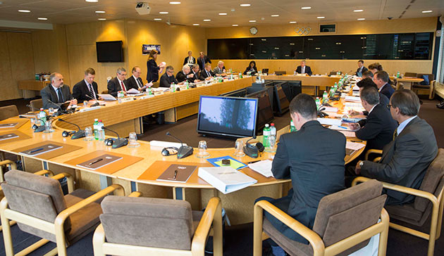 Pakistan today avoided suspension when the International Olympic Committee's ruling Executive Board discussed their situation ©IOC