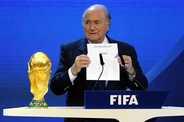 Qatar's successful campaign to host the 2022 FIFA World Cup has sparked allegations of corruption ©AFP/Getty Images