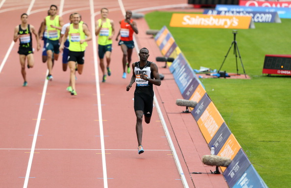 David Rudisha wins with ease in Glasgow's Diamond League meeting ©British Athletics/Getty Images