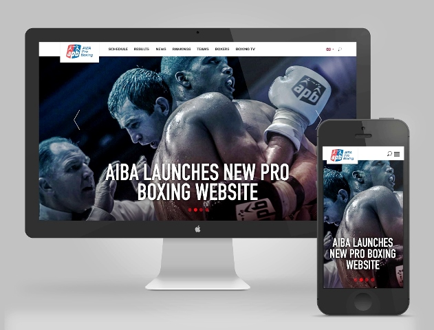 AIBA Pro Boxing has launched a new website created by Skylab ©AIBA