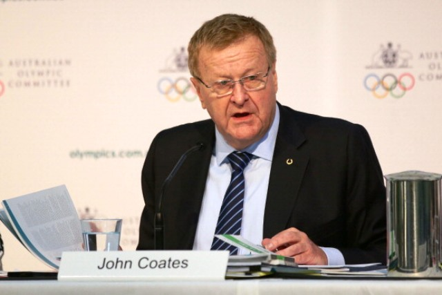 AOC President John Coates has warned athletes about associating with individuals who have committed anti-doping violations ©Getty Images
