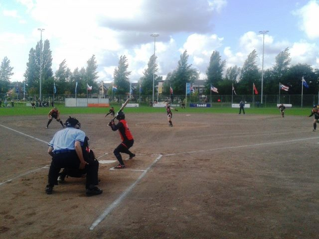 A busy day in Haarlem saw the line-up for the medal matches decided at the Women's Softball World Championships ©Haarlem 2014