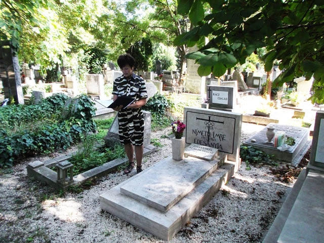 A special memorial service has been held to mark the 25th anniversary of the death of Hungarian Olympic champion Imre Németh ©MOB