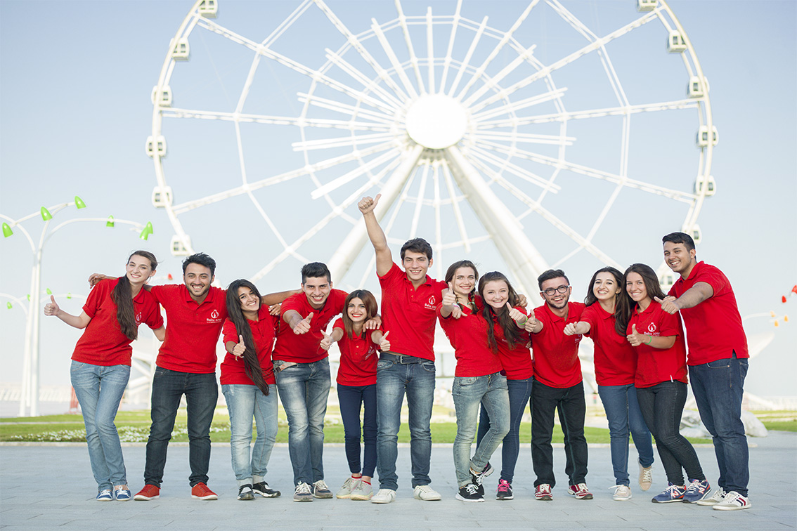 A survey has revealed 71 per cent of young Azerbaijanis are inspired by the Baku 2015 European Games ©Baku 2015