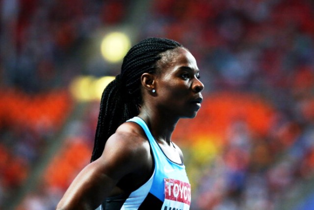 Amantle Montsho faces a possible two-year ban after her B-sample from Glasgow 2014 came back positive ©Getty Images