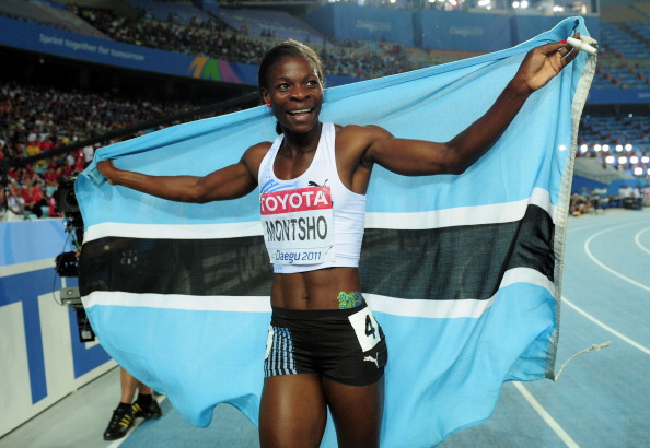 Amantle Montsho the 2011 world champion has become the second failed doping case of Glasgow 2014 ©Getty Images