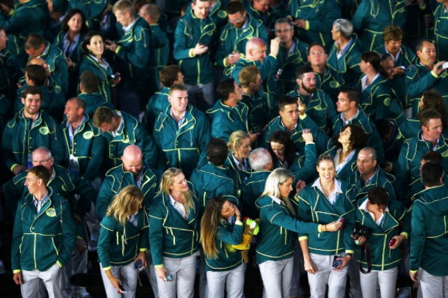 Australian athletes hoping to compete at Rio 2016 will have to sign a clause promising to stay away from support personnel charged with anti-doping violations ©Getty Images