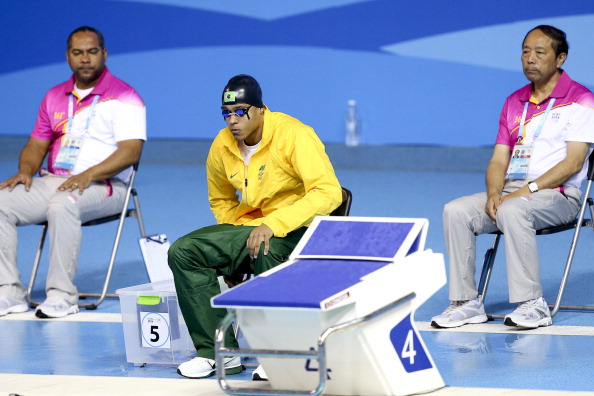 Brazil were prevented from competing in the men's 4x100m medley relay after athletes were not registered to race ©Getty Images