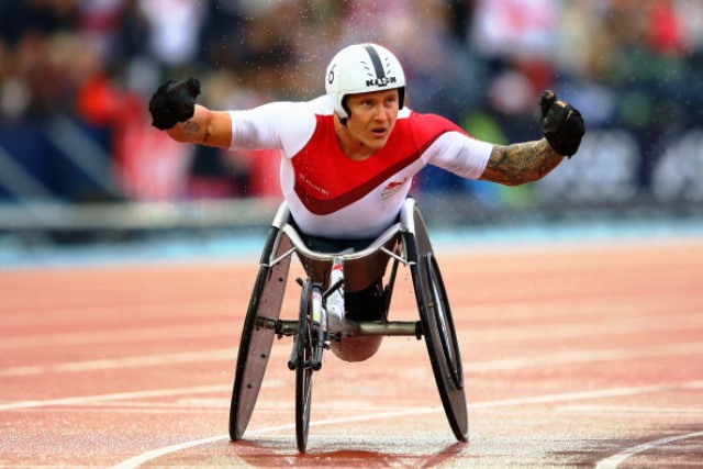 Britain's David Weir has pulled out of the IPC Athletics European Championships due to injury ©Getty Images