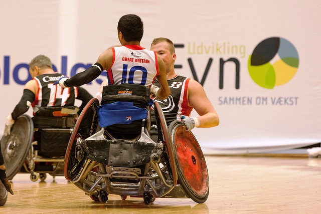 Canada remain one of four sides unbeaten at the Wheelchair Rugby World Championships ©Gitte Thordahl Jespersen/Danish NPC