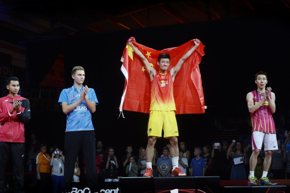 China's Chen Long is the men's singles badminton world champion ©Getty Images
