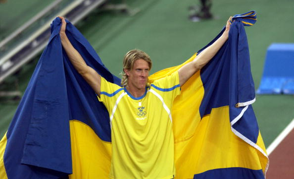 Sweden's Christian Olsson, the Athens 2004 Olympic triple jump champion, has been elected to the Athletes' Commission of European Athletics ©Getty Images