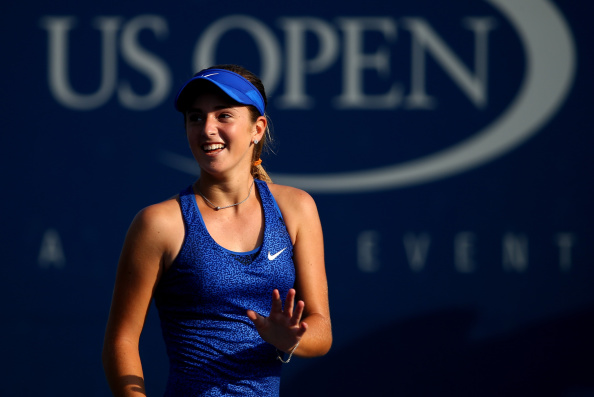 CiCi Bellis will not receive any prize money despite her progress into the second round of the US Open, because she is an amateur ©Getty Images