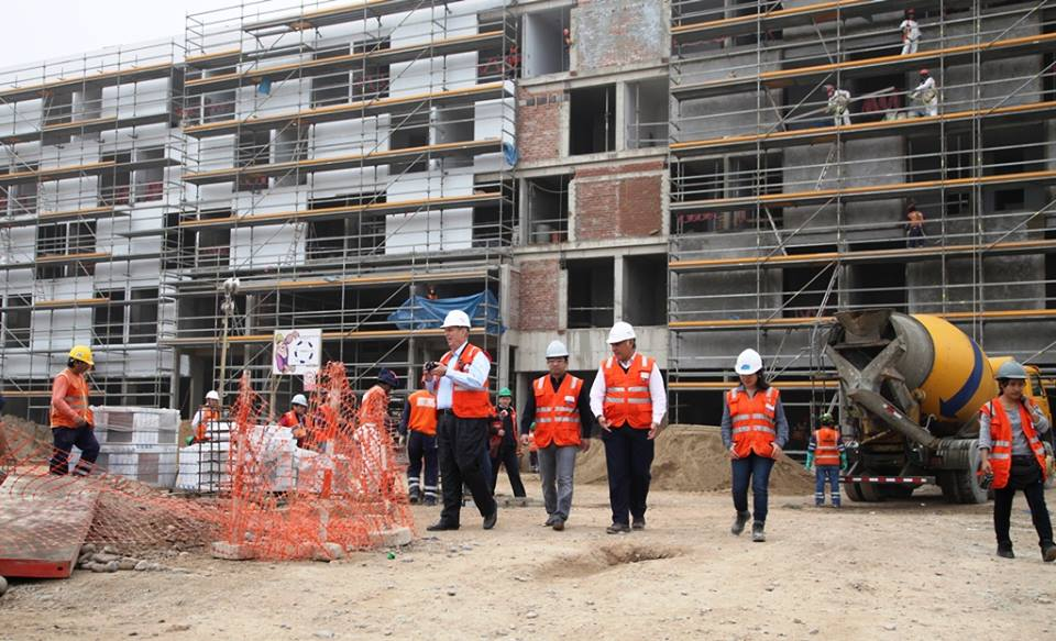 Construction work on High Performance Centre in Peru is set to be completed by October ©POC